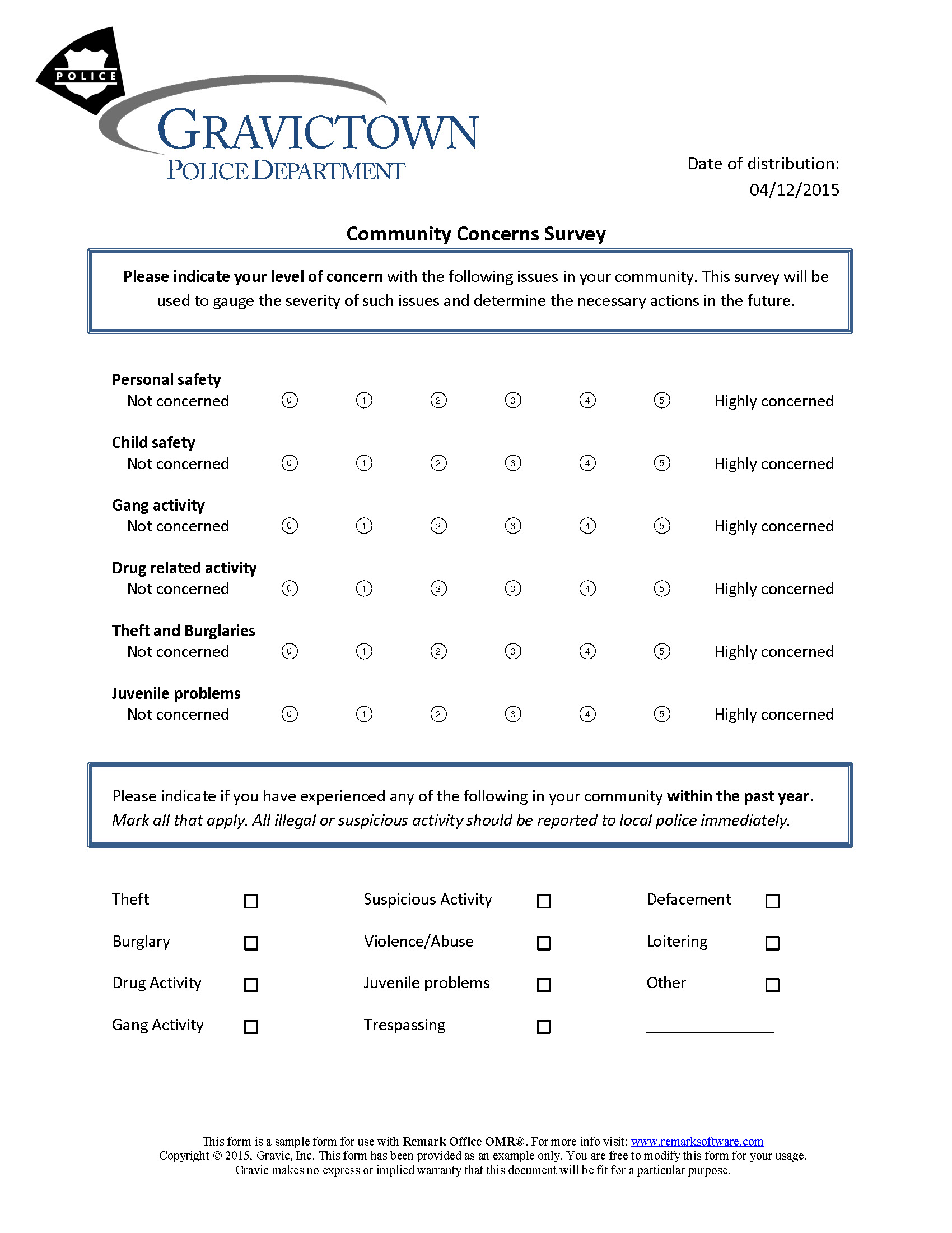 customer survey template word