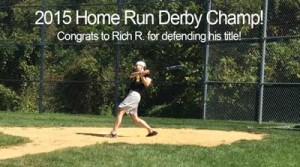 Gravic's 2015 Home Run Derby Champ, Rich R.