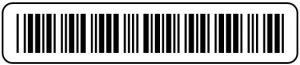 Code 3 of 9 barcode font for Remark Office OMR