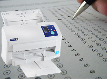 Grading tests with a Xerox DocuMate 5445 Scanner