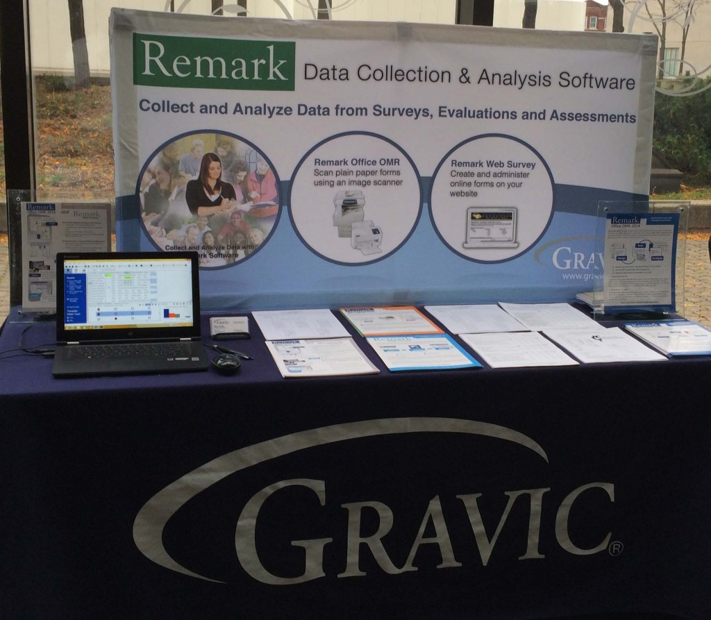 Remark Software Tradeshow Booth