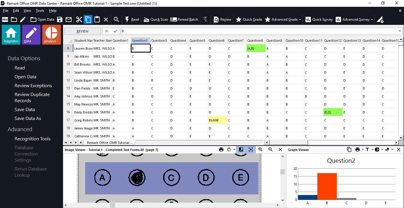 Remark Office OMR 10 Data Center