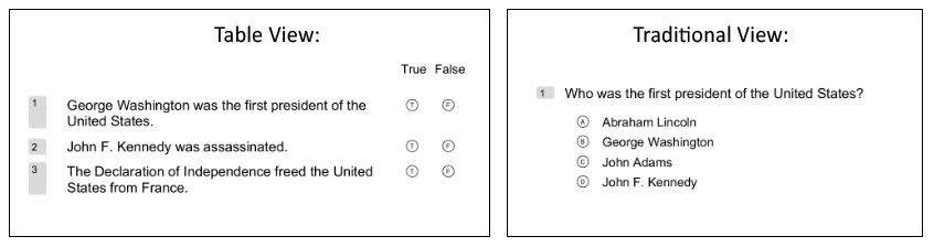 Remark Test Grading Cloud Question Types
