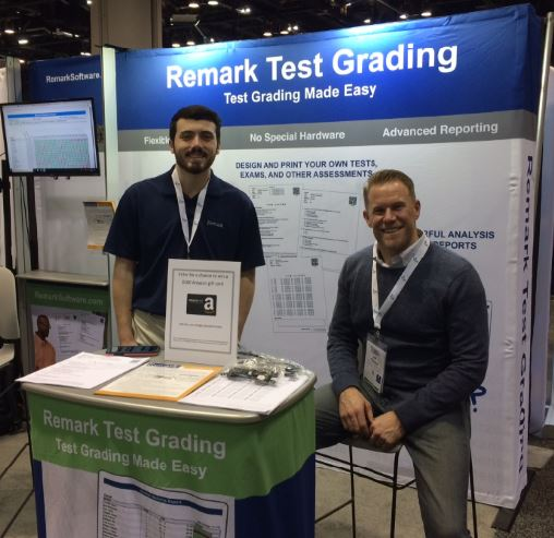 Remark Software Test Grading Booth