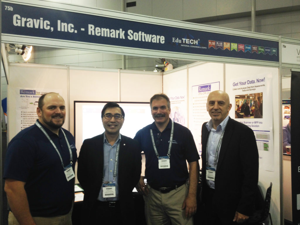 Remark Software at EduTECH