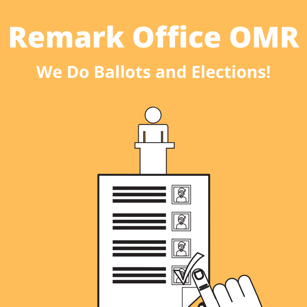 Remark Office OMR Ballots