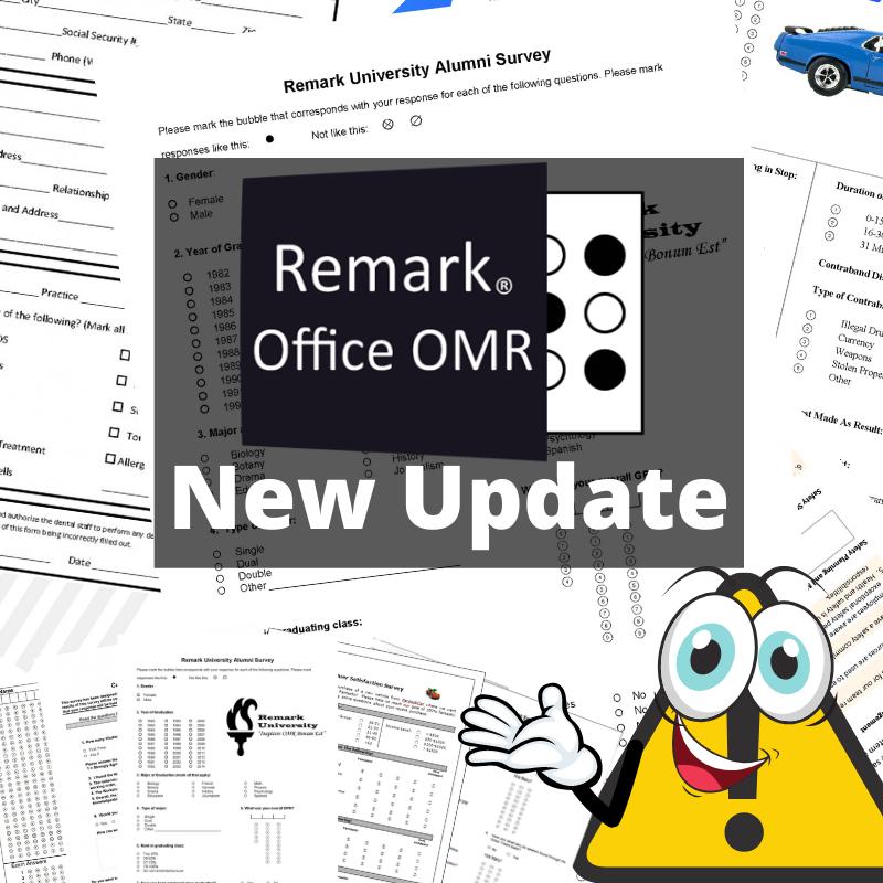Remark Office OMR 10.4 Update