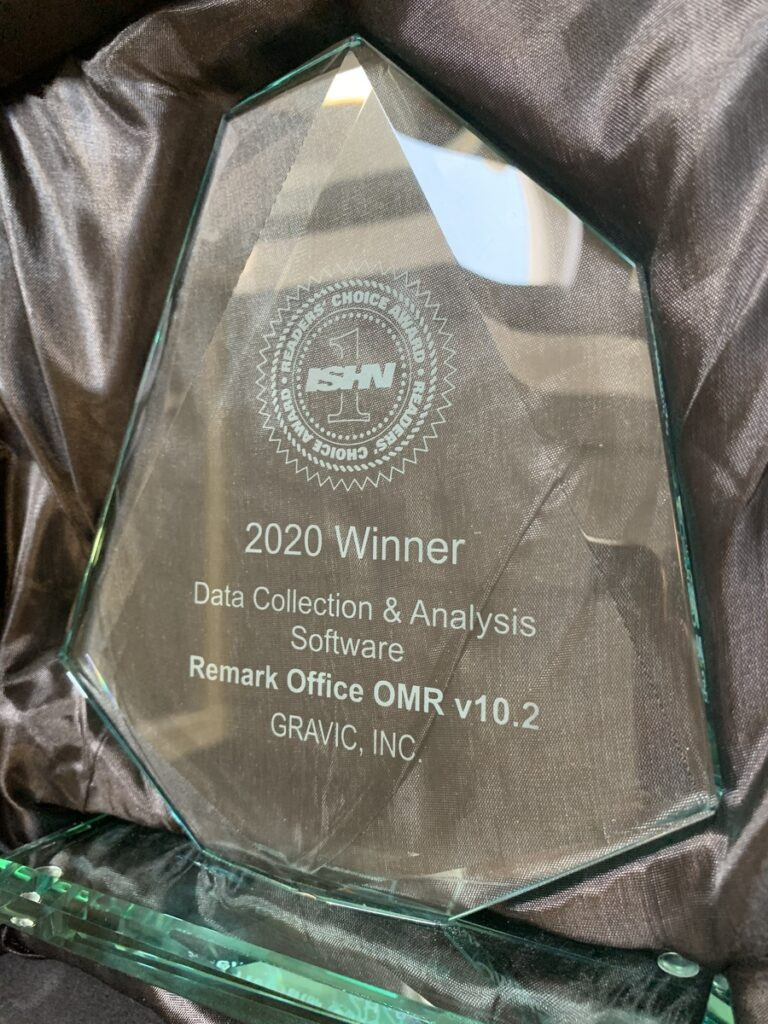 202 ISHN Readers Choice Award for Best Data Collection and Analysis Software