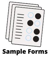 Remark Office OMR Sample Forms