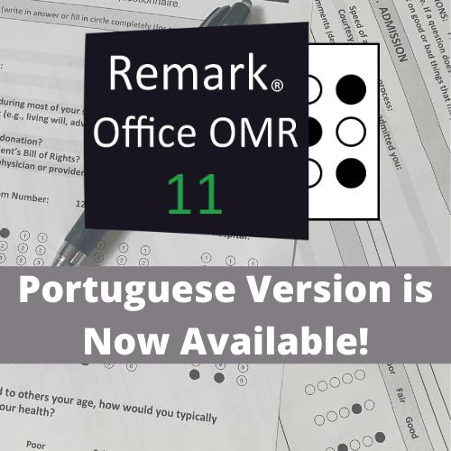 Remark Office OMR Portuguese